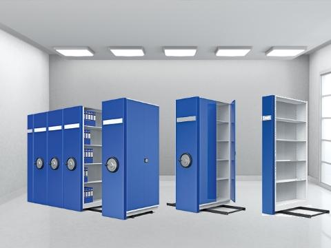 Tekli Kompakt Raylı Arşiv Sistemi